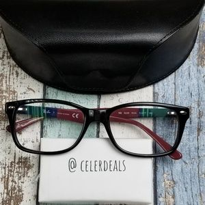 RB5228 5544 Ray Ban Unisex Black Eyeglasses/VII611